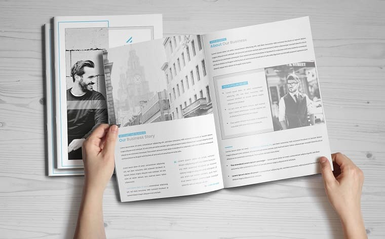 Guasi-pages-Brochure Corporate Identity Template.