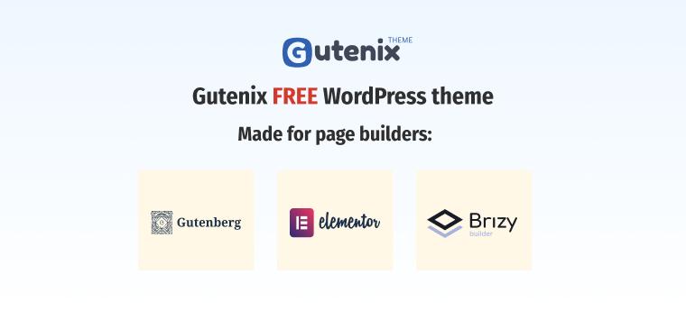 Gutenix WordPress theme.