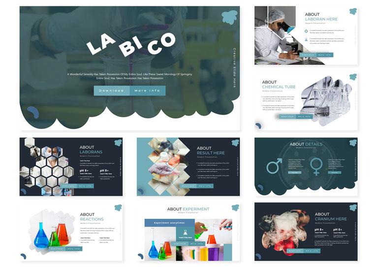 LA BI CO | PowerPoint Template