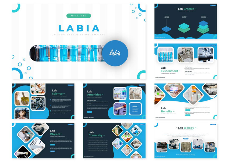 Labia | PowerPoint Template