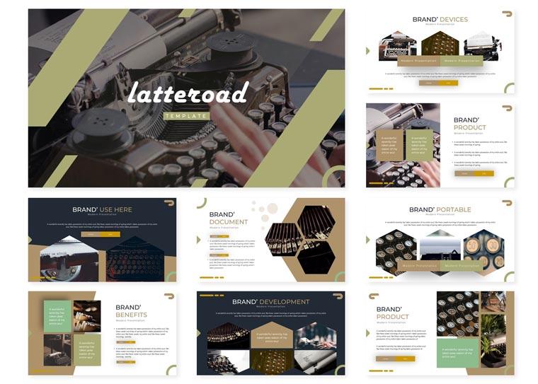 Letteroad | PowerPoint Template.