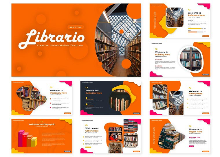 Librario | PowerPoint Template.
