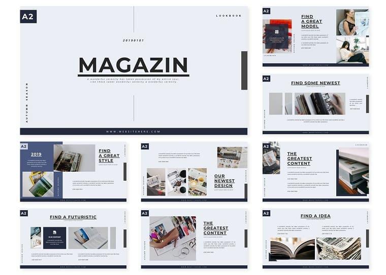 Magazin | PowerPoint Template