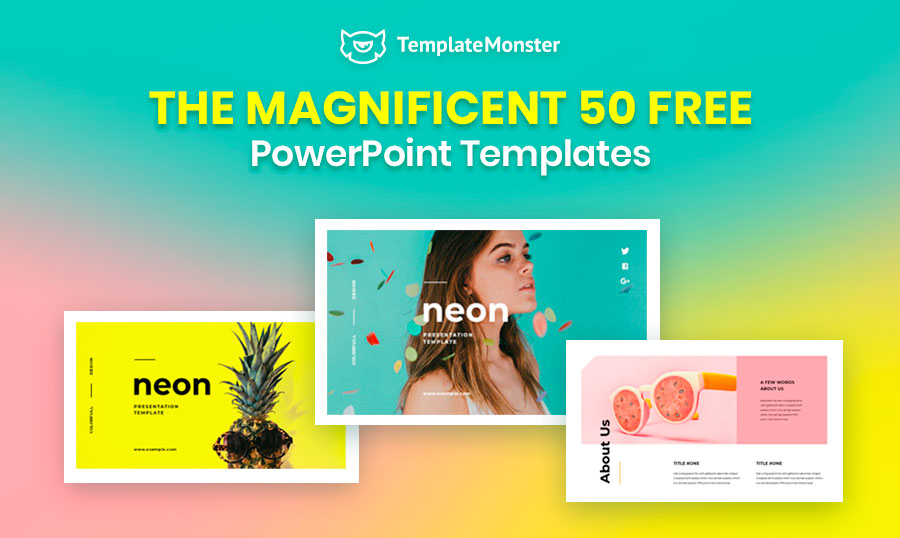The Magnificent 50 Free Powerpoint Templates 2020