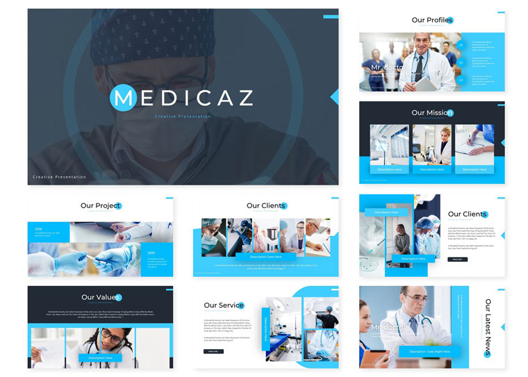 Medicaz | PowerPoint Template