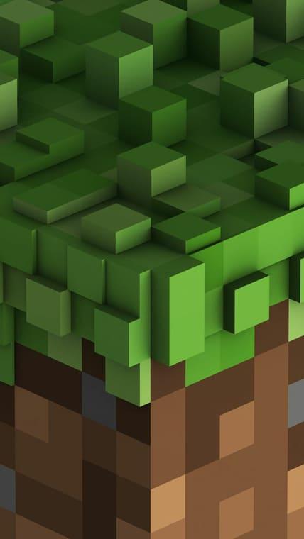 Mobile Minecraft Wallpaper 3.