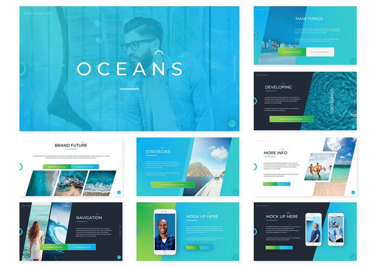 Oceans | PowerPoint Template