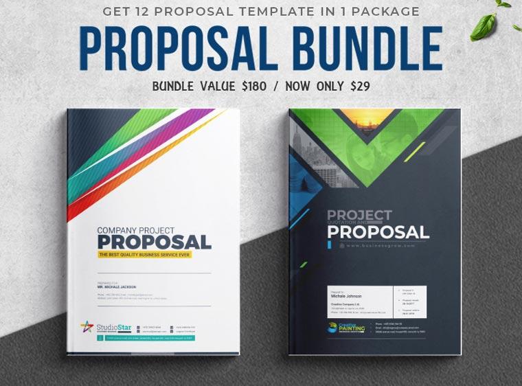 Proposal Template Big Bundle Corporate Identity Template.