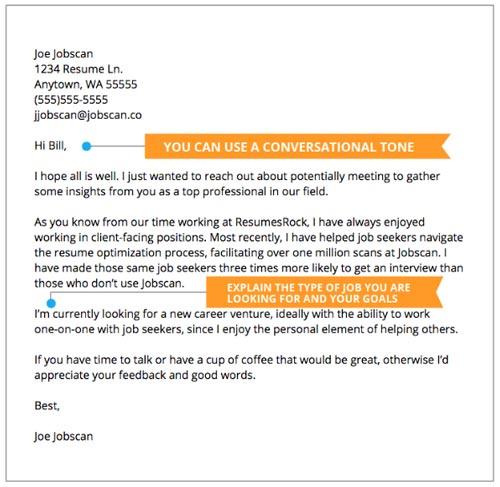Resume vs. cover letter example 7.