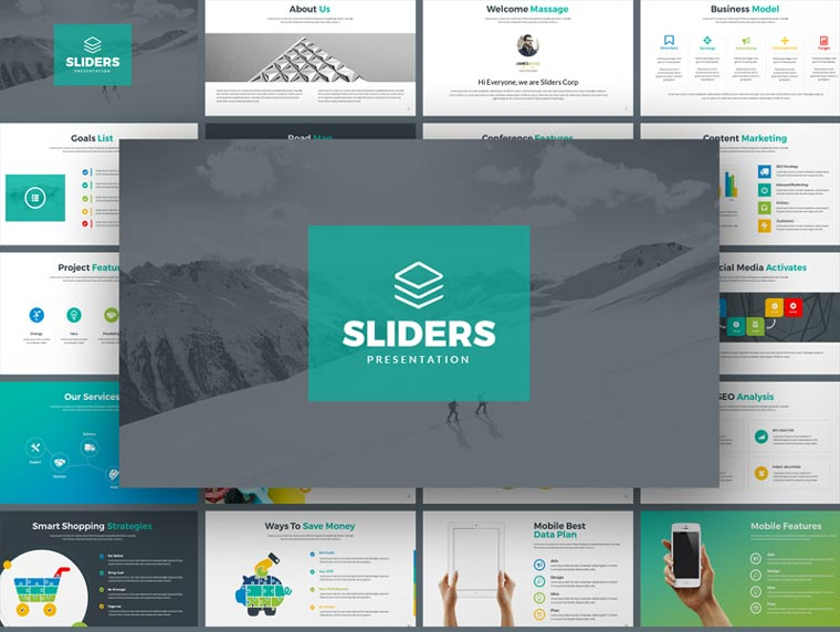 Sliders - Multipurpose PowerPoint Template.