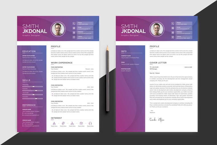 Smith Jkdonal Modern Resume Template