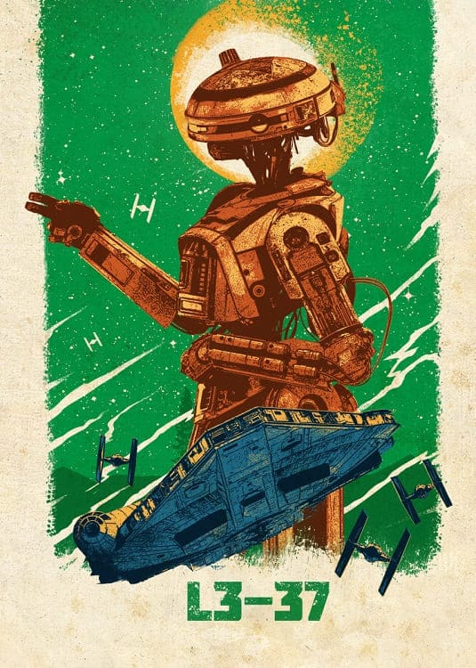 Solo – A Star Wars Story poster 4.