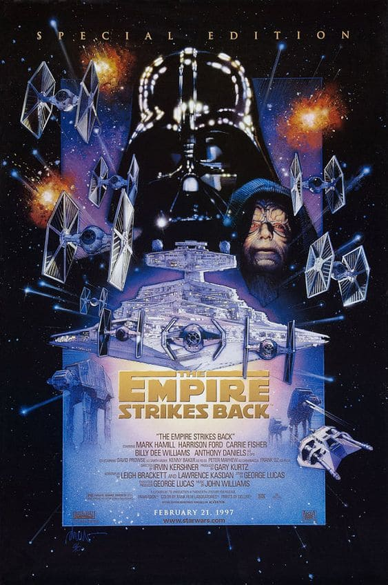 The Empire Strikes Back poster 3.