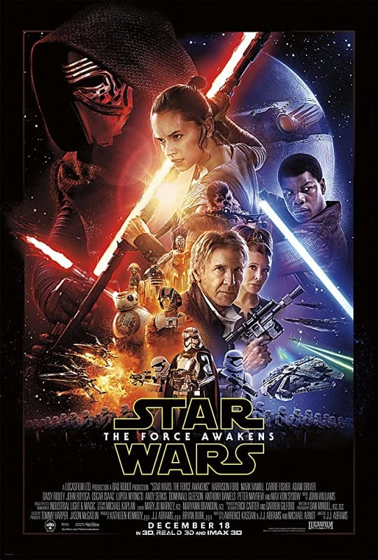 The Force Awakens poster 2.