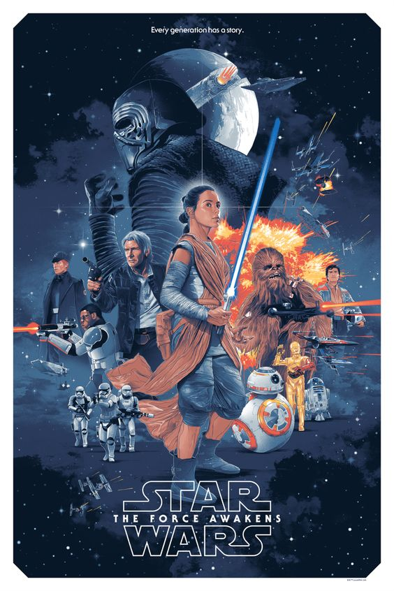 The Force Awakens poster 1.