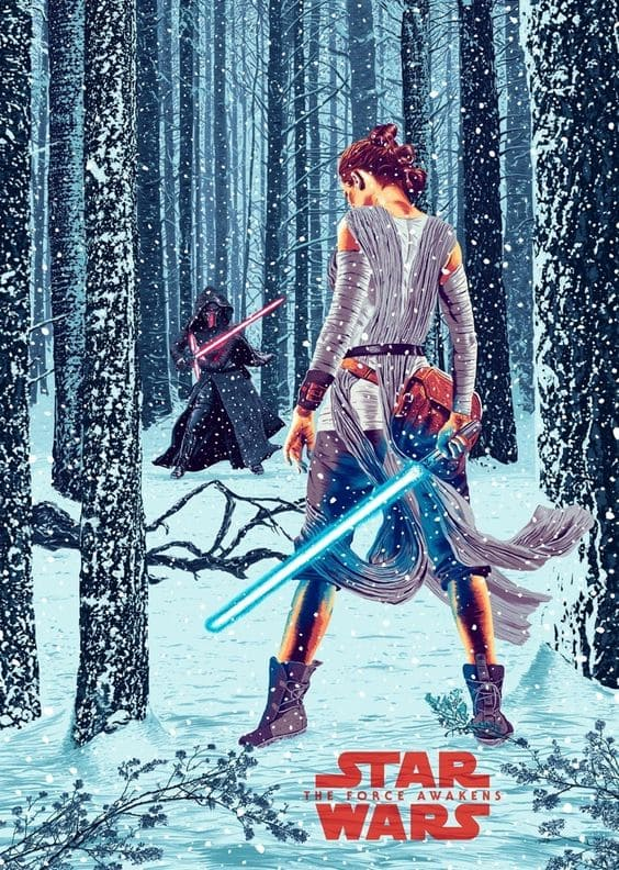 The Force Awakens poster 4.