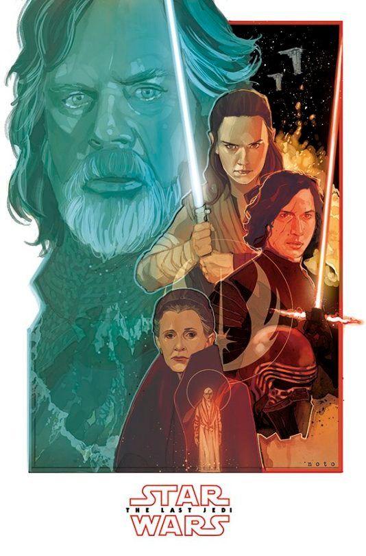 The Last Jedi poster 1.