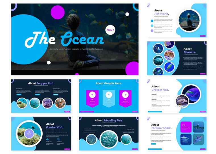 The Ocean | PowerPoint Template