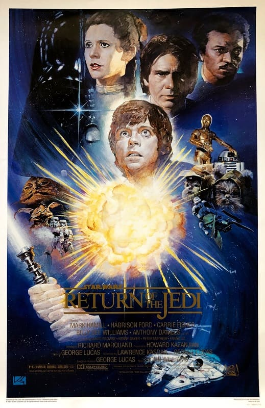 The Return of the Jedi poster 1.