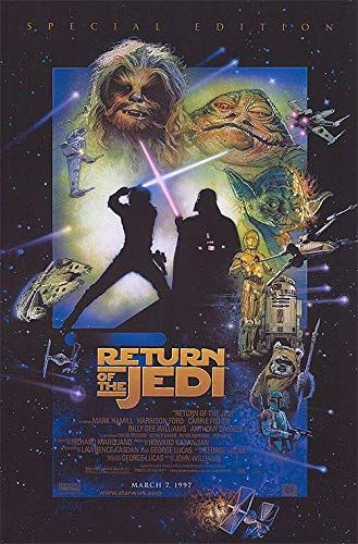 The Return of the Jedi poster 2.