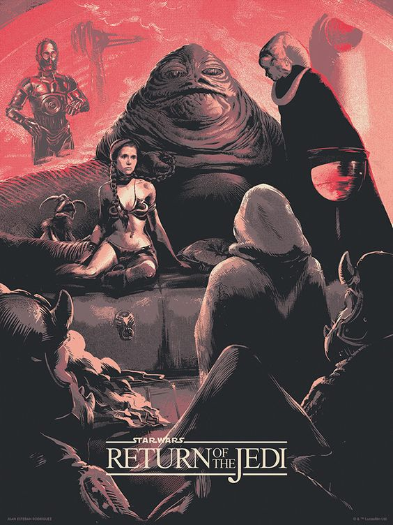 The Return of the Jedi poster 4.