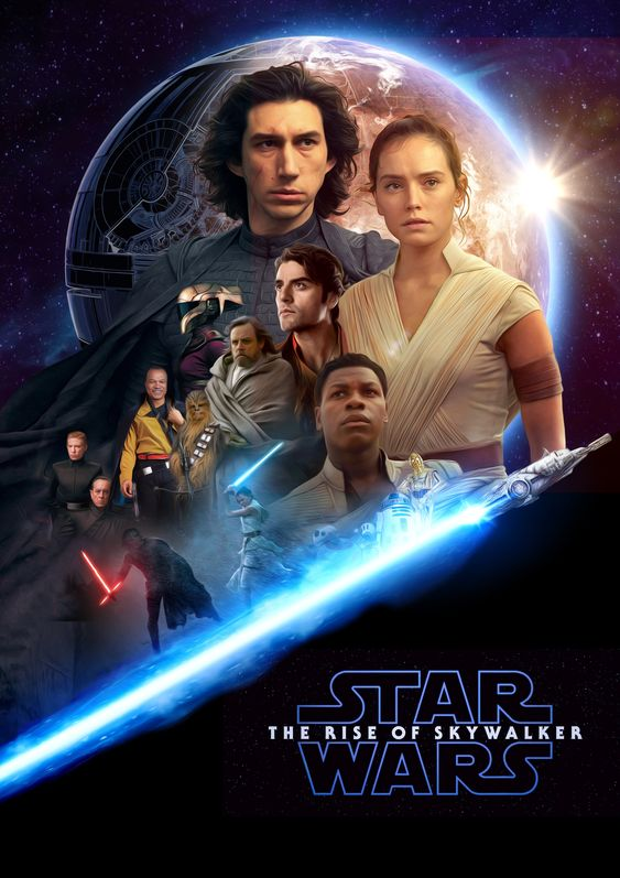 The Rise of Skywalker poster 3.