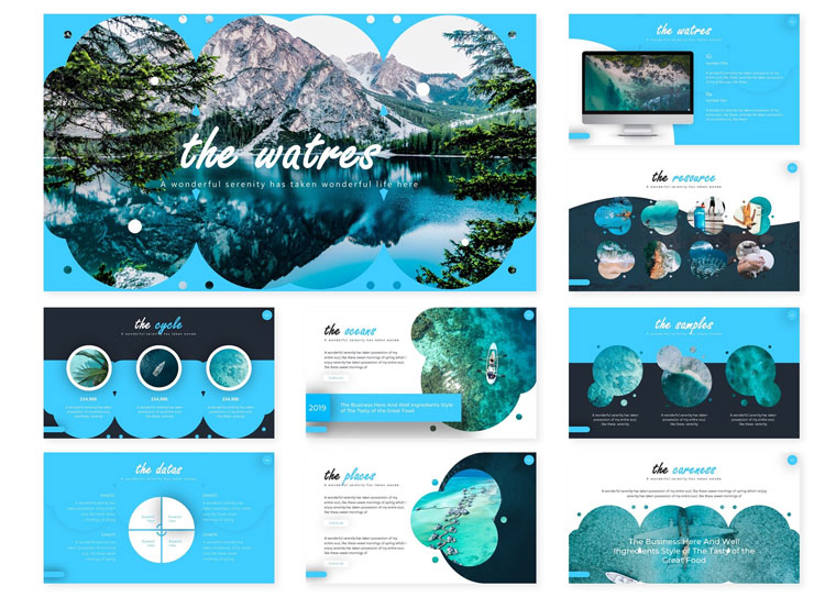 The Waters | PowerPoint Template