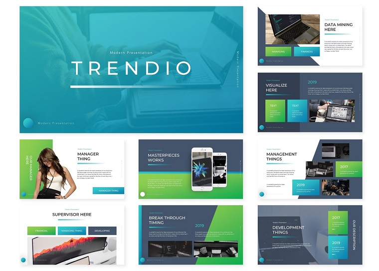 Trendio | PowerPoint Template
