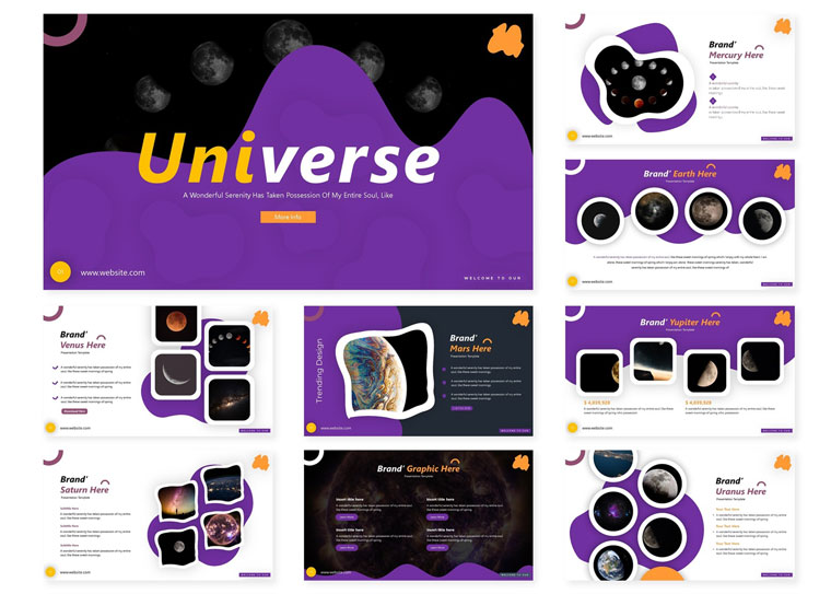 Universe | PowerPoint Template
