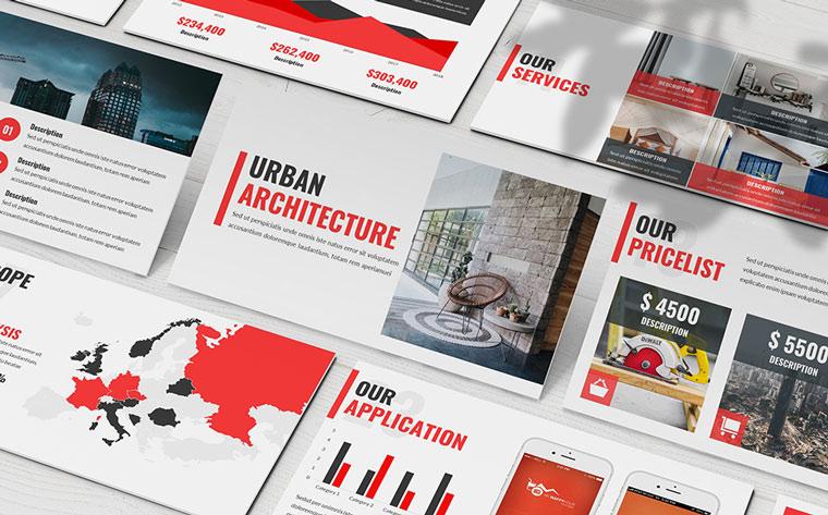 Urban - Architecture PowerPoint Template