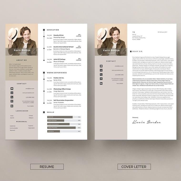 Vol.28 Resume & CV Template