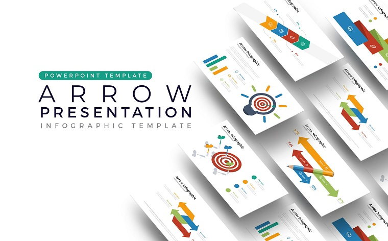 Arrow - Infographic PowerPoint Template