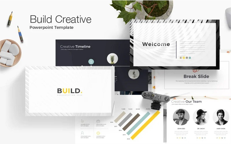 Build PowerPoint Template for Creative Ideas