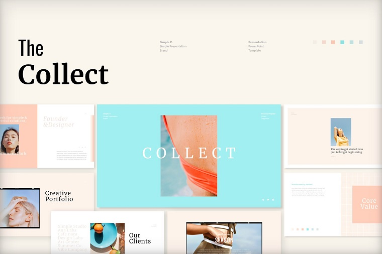 Collect PowerPoint Template