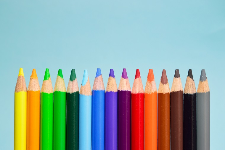 Colored pencil set.