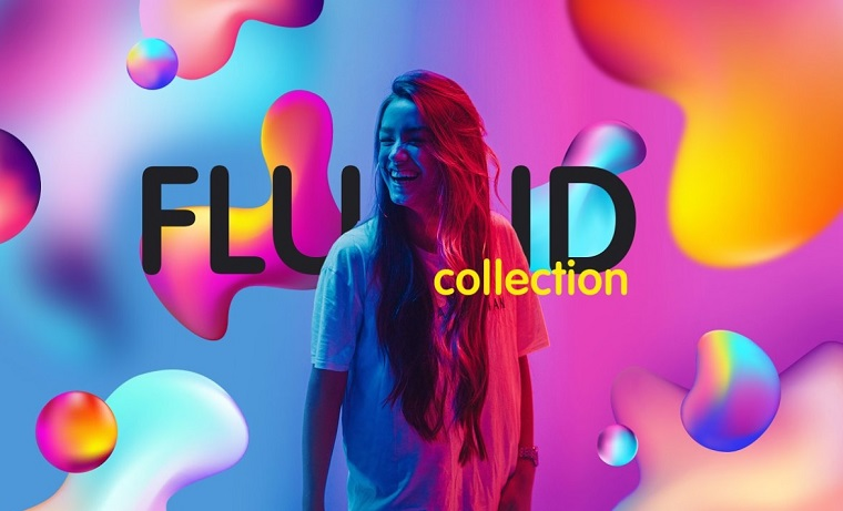 Crazy fluid gradients collection.