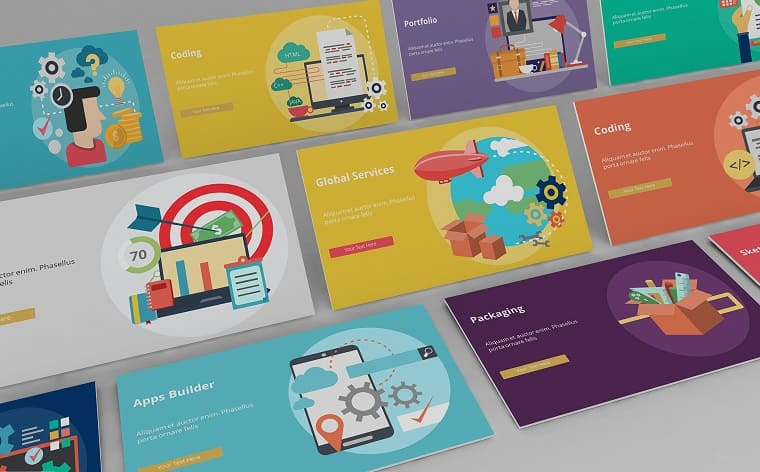 Creative Life - Infographic PowerPoint Template