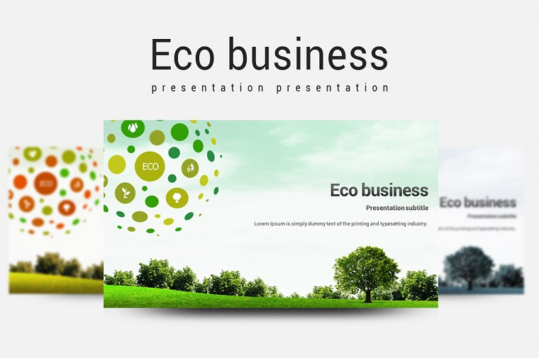 Eco Business PowerPoint Template