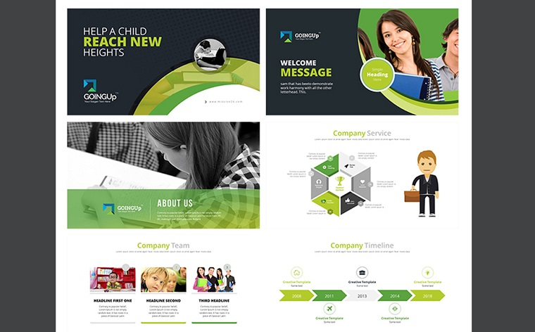 Education & Training PowerPoint Template