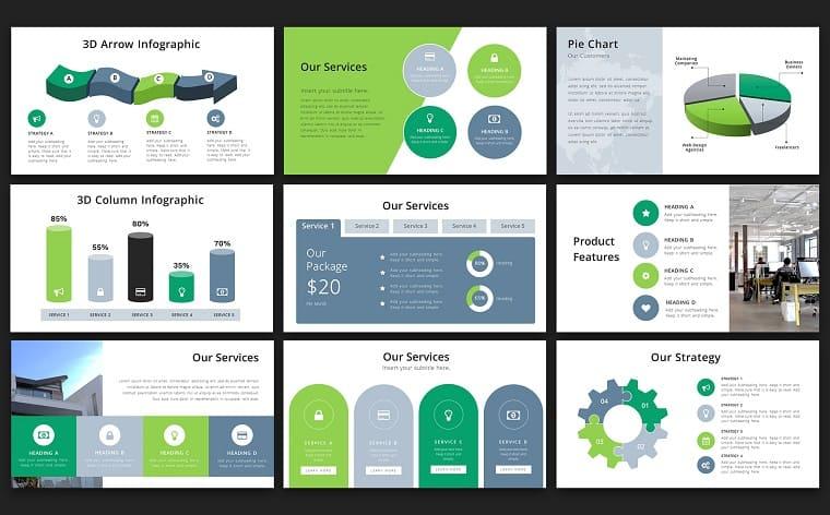 Expert Business PowerPoint Template