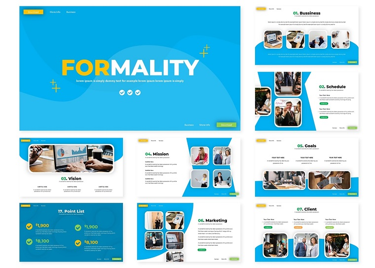 Formality | PowerPoint Template