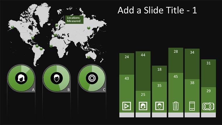 Global infographic chart
