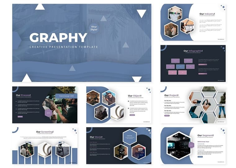 Graphy | PowerPoint Template