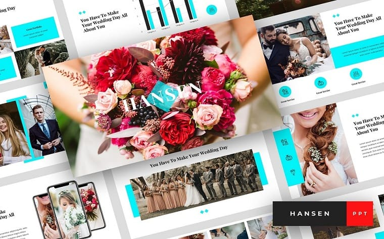 Hansen - Wedding Presentation PowerPoint Template