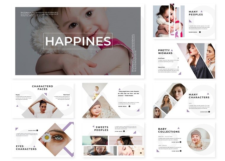 Happines | PowerPoint Template