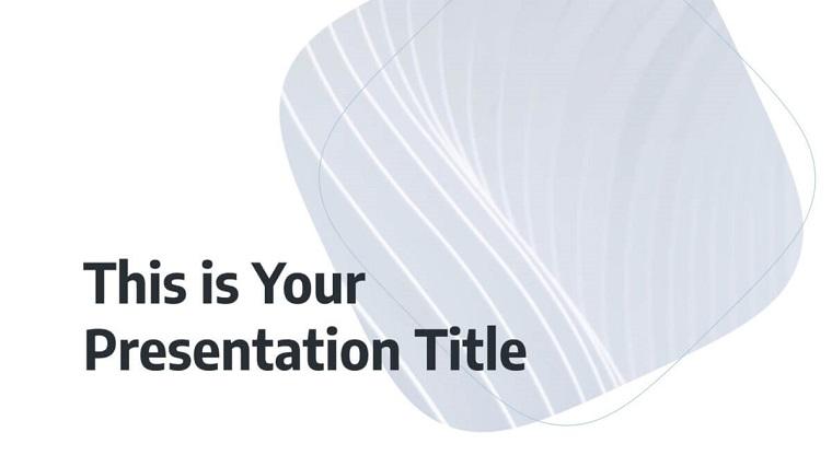 Iden presentation template