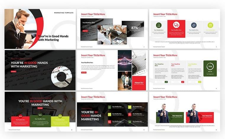 Marketing - Business PowerPoint Template
