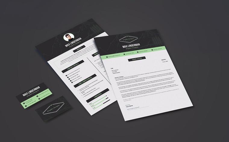 Max Linderman - Graphic Designer Resume Template