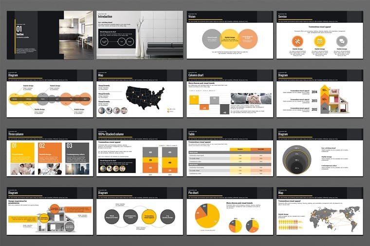 Modern Office PowerPoint Template