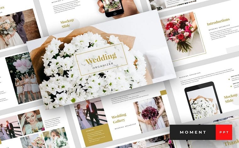 Moment - Wedding Presentation PowerPoint Template